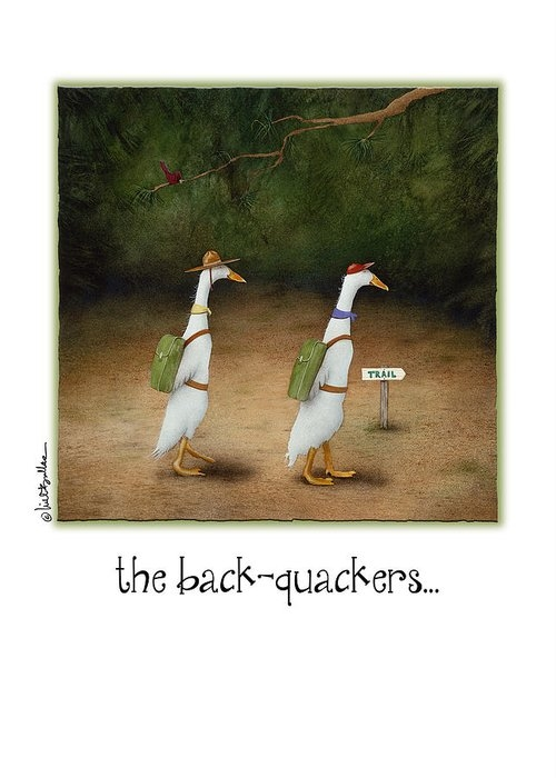 the back-quackers... by Will Bullas