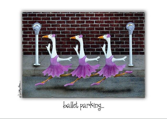 ballet parking... by Will Bullas