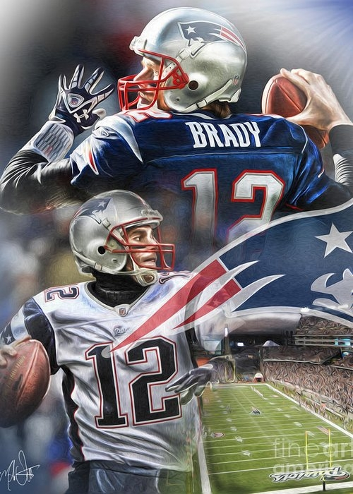 New England Patriots by Mike Oulton