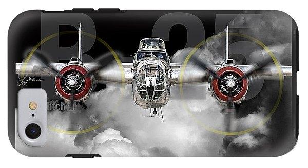B-25 Mitchell Bomber by Larry McManus