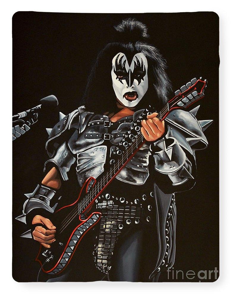 Gene Simmons of Kiss by Paul Meijering