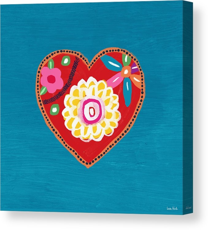 Corazon 3- Art by Linda Woods by Linda Woods