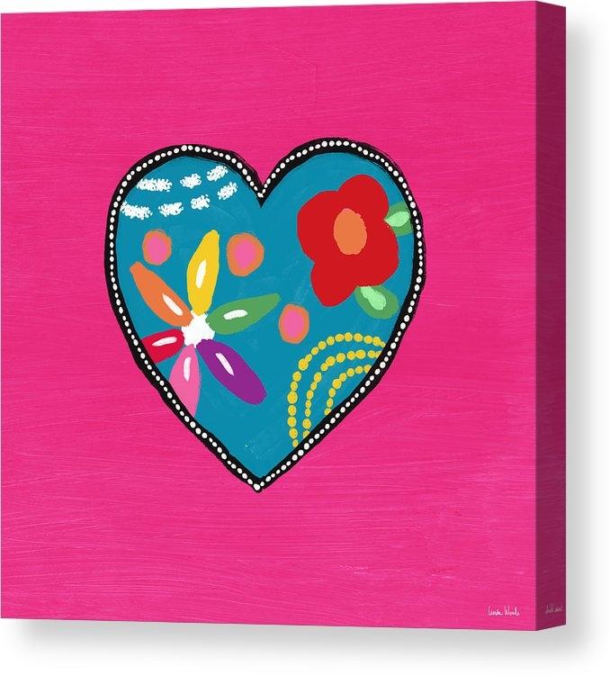 Corazon 2- Art by Linda Woods by Linda Woods