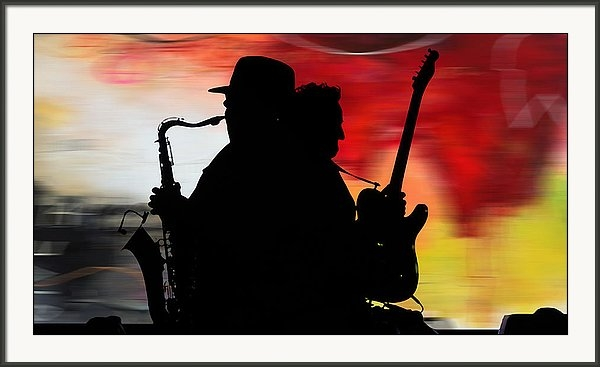 Bruce Springsteen Clarence Clemons by Marvin Blaine