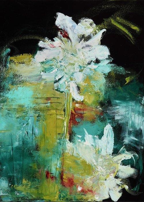 White Blooms by Nan Davis