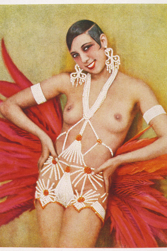 Josephine Baker  Dancer, In An by Mary Evans Picture Library