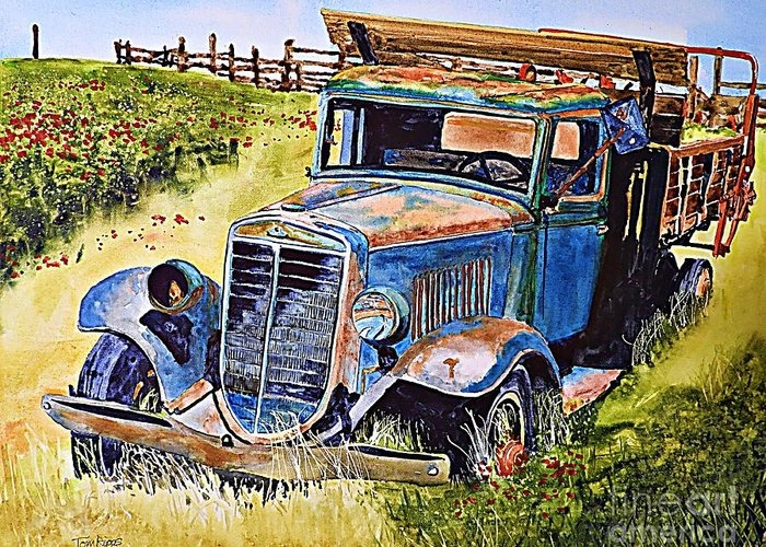 Pappy's Poppy Truck by Tom Riggs