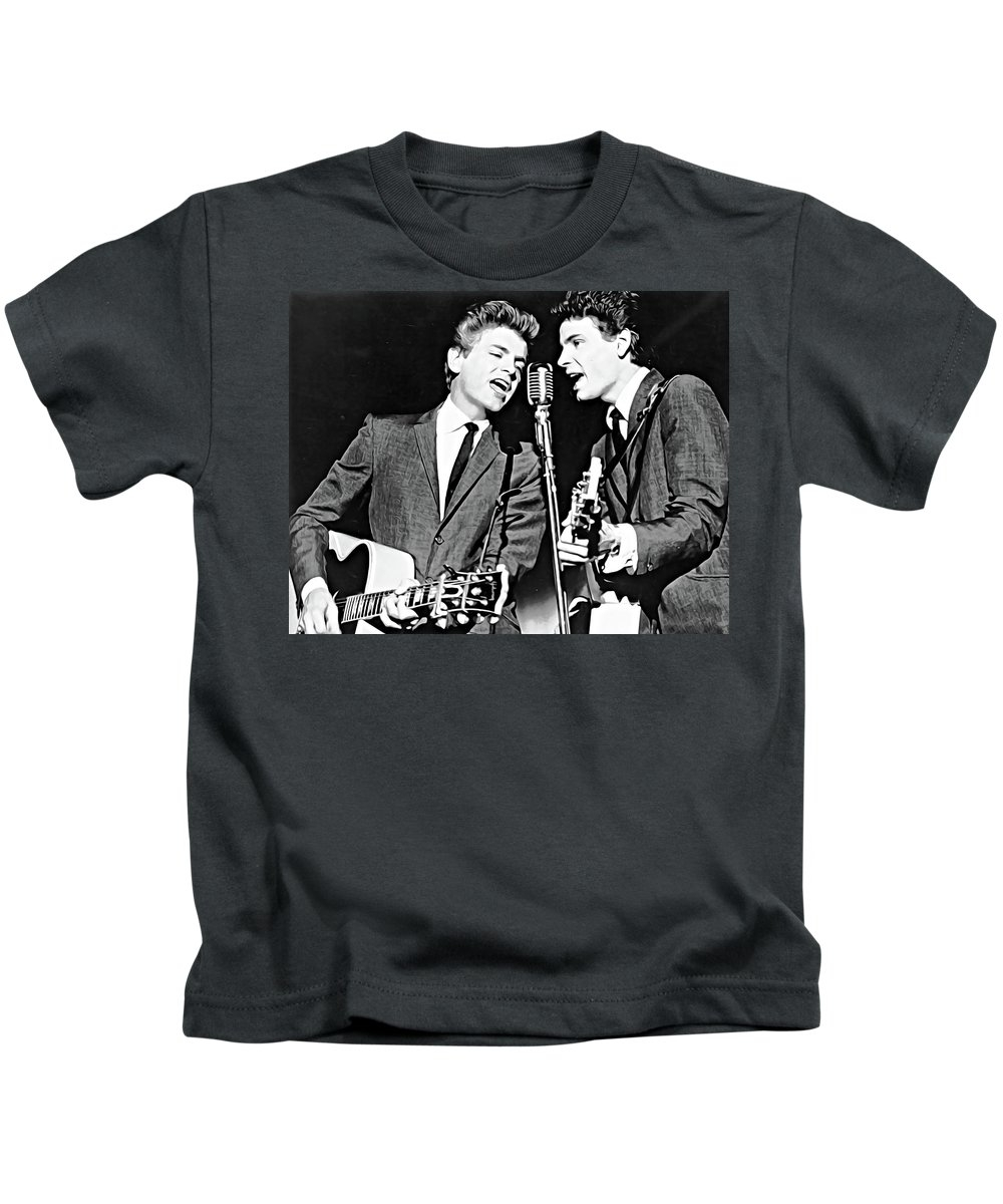 The Everly Brothers by Queso Espinosa
