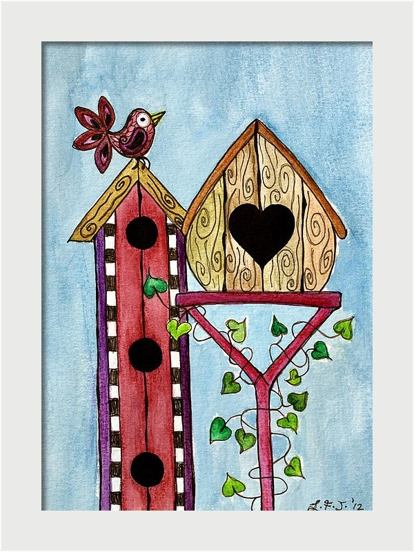Bird House by Lisa Frances Judd
