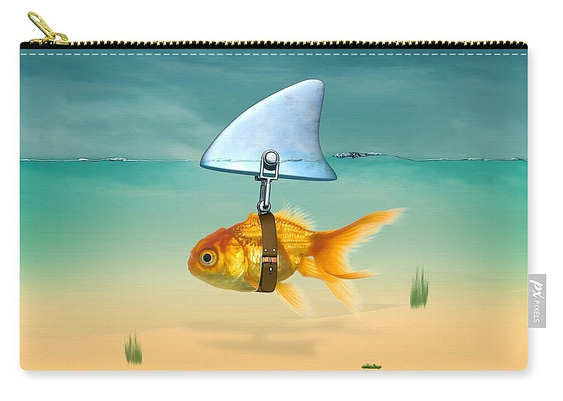 gold fish  Zip Pouch