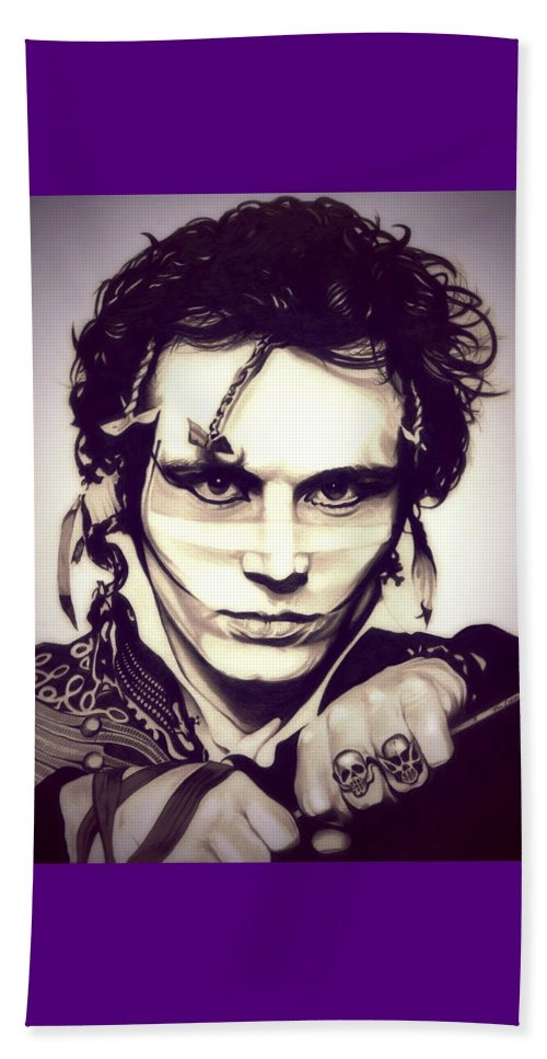 Adam Ant Bath Towel