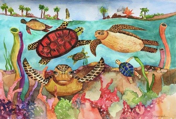 Turtle Soup by Carol Shamrock