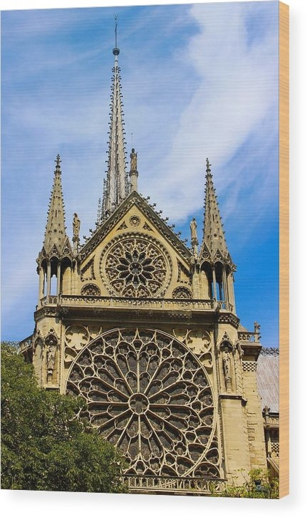 Notre Dame Cathedral 2 by Lark Hickey