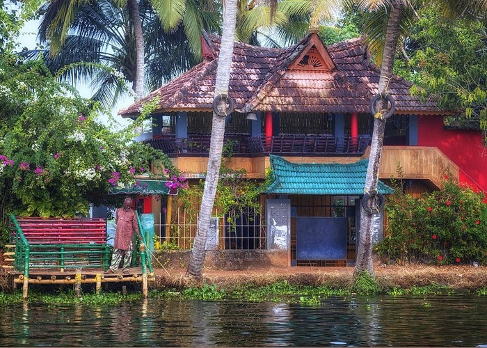 Backwaters Kerala - India Greeting Card