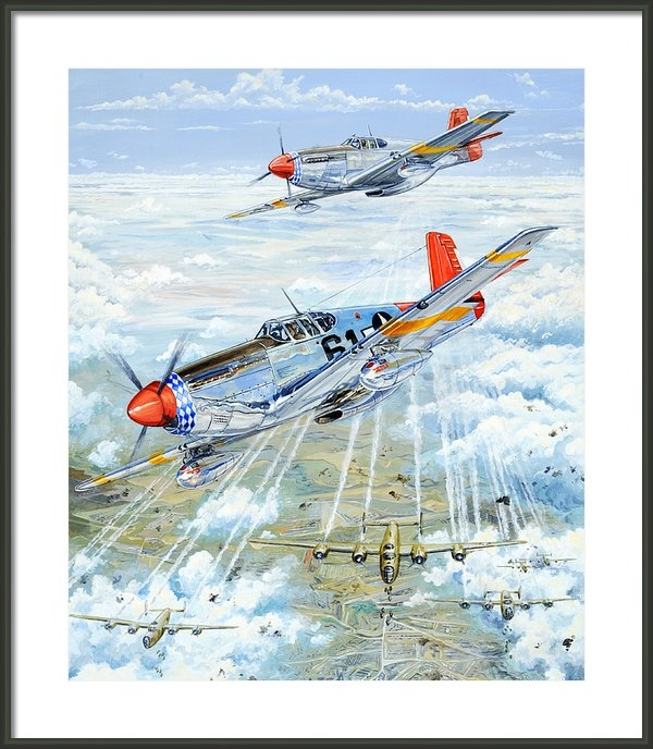 Charles Taylor - Red Tail 61 Print