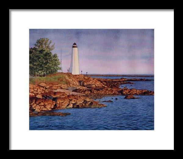Sharon Farber - Five Mile Point Lighthous... Print