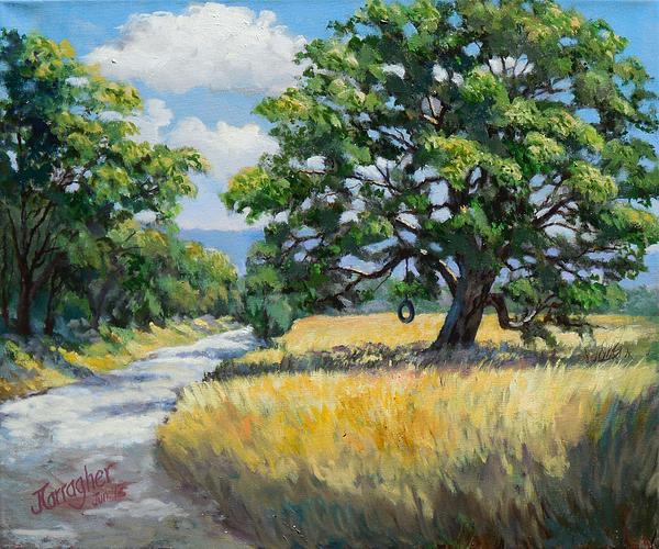Joseph Carragher - California Live Oak Print