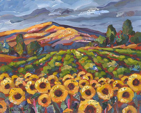 Shelli Walters - Sunflower Ranch Print