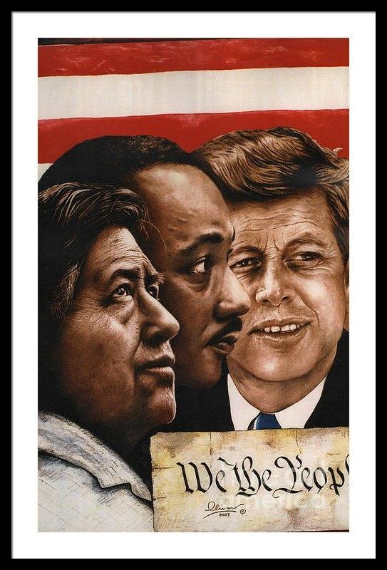 Bill Olivas - We The People Print