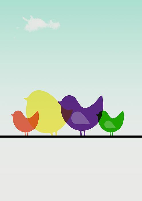 Mark Ashkenazi - Birds  Print