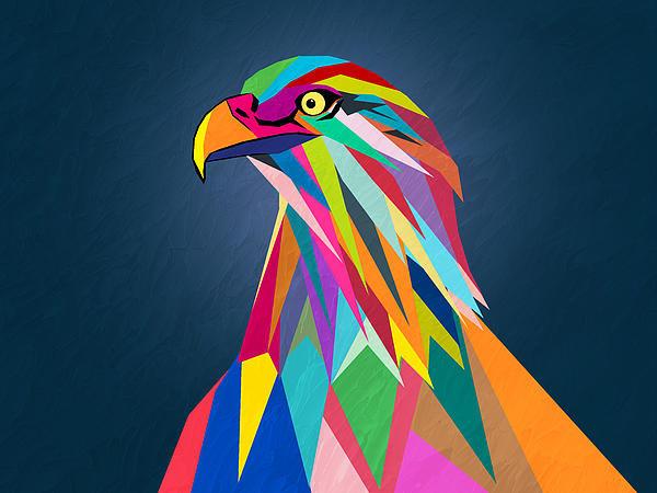 Mark Ashkenazi - Eagle Print