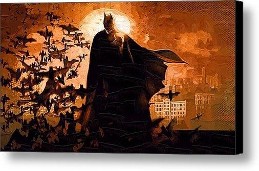 Victor Gladkiy - The Dark Knight Rises Print
