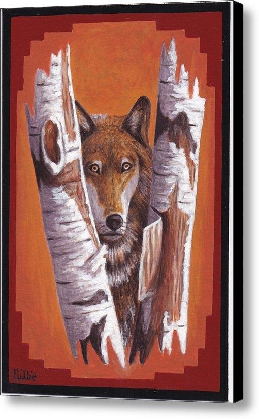 Billie Bowles - Leader wolf Print