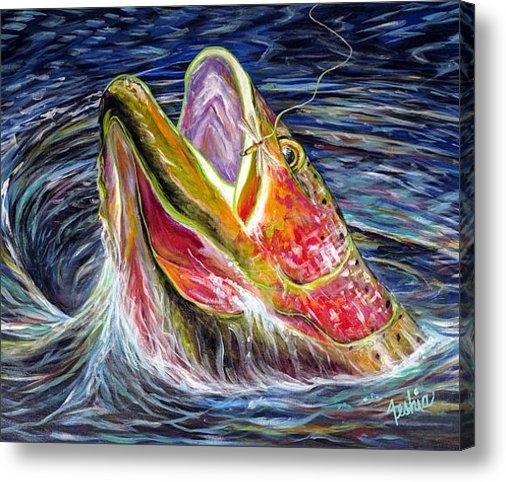 Teshia Art - Haunted Waters Print