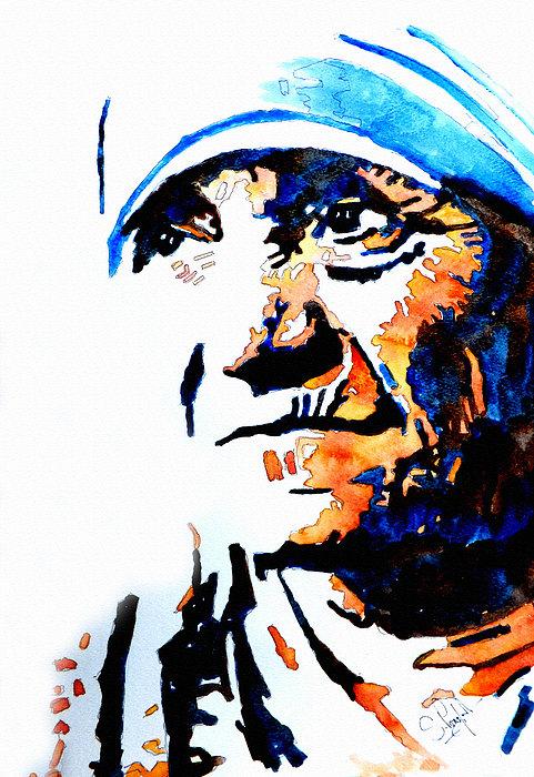 Steven Ponsford - Mother Teresa Print