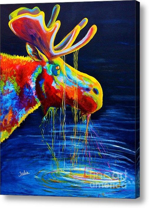 Teshia Art - Moose Drool Print