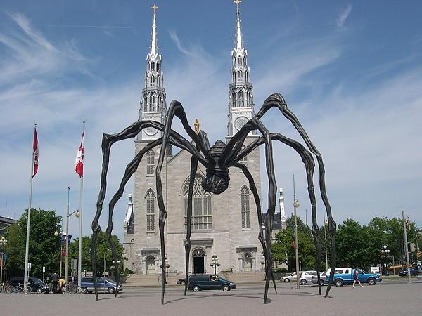 Alfred Ng - Big Spider in Ottawa Print