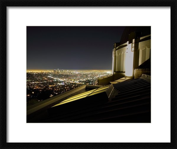 Jetson Nguyen - Los Angeles skyline from ... Print