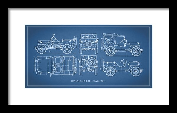 Mark Rogan - The Willys Jeep Print