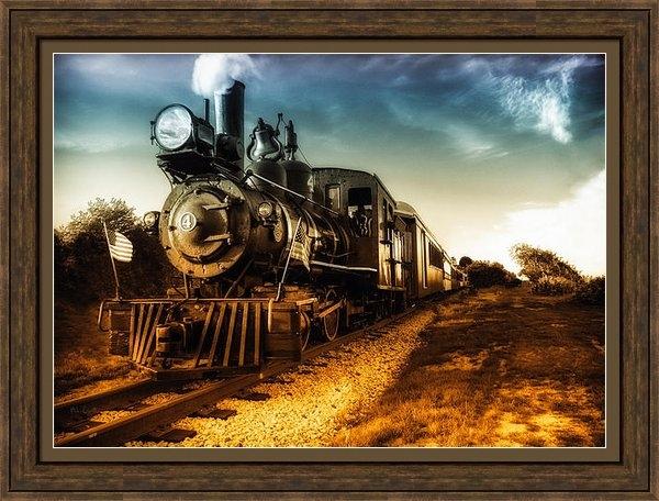 Bob Orsillo - Locomotive Number 4 Print