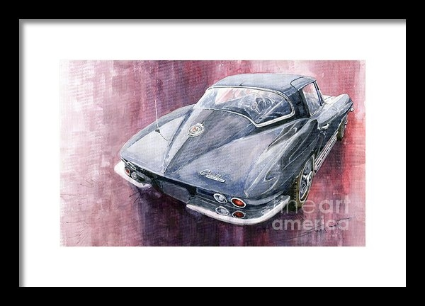 Yuriy  Shevchuk - Chevrolet Corvette Sting ... Print