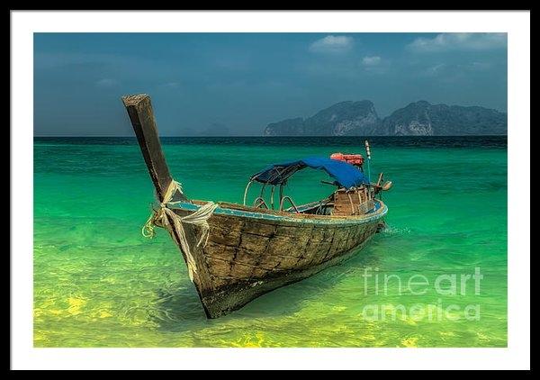 Adrian Evans - Longboat Print