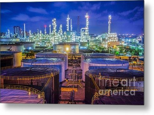 Anek Suwannaphoom - Oil Refinary Industry  Print