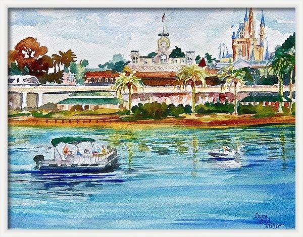 Laura Bird Miller - A Disney Sort of Day Print