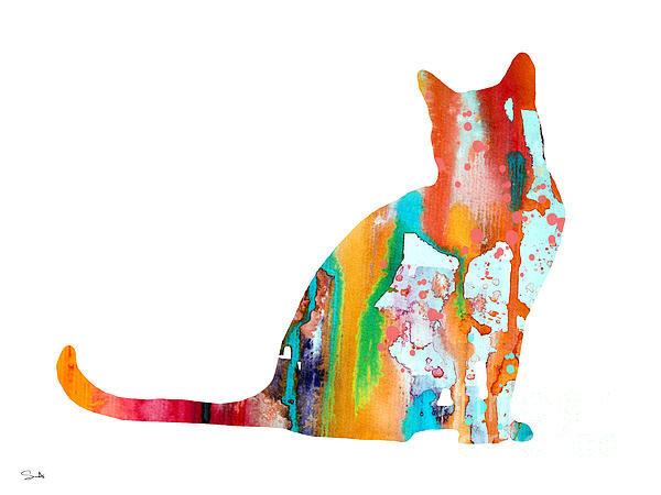 Luke and Slavi - Cat 3 Print