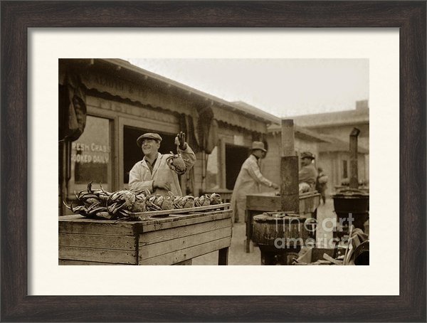 California Views Mr Pat Hathaway Archives - Dungeness crabs at Fisher... Print