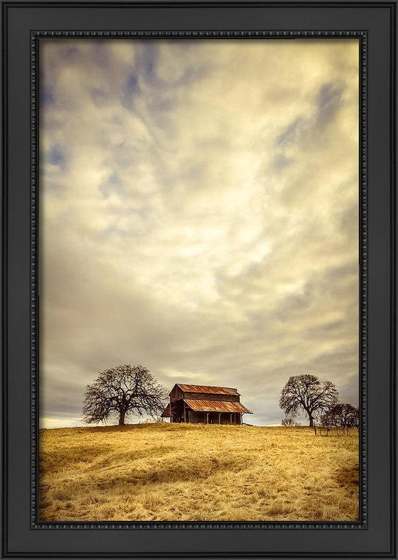 Randy Wood - Ono Barn Print