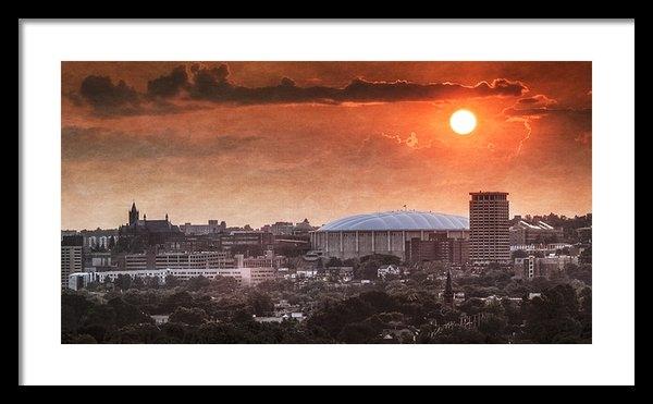 Everet Regal - Syracuse Sunrise over the... Print