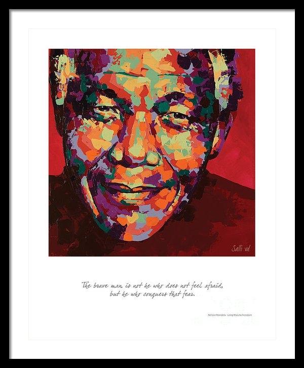 Salli Van Druten - The Brave Man Print