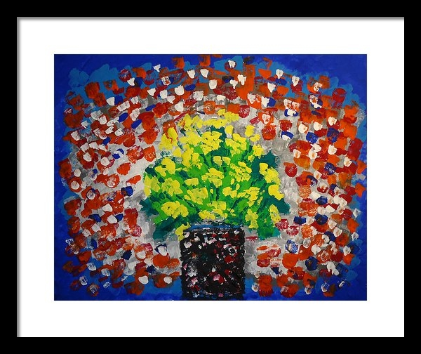 Norma Poulos - Monday Flowers Print