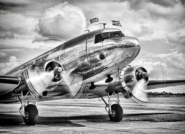 Ian Merton - DC-3 Dakota Print