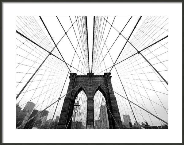 Nina Papiorek - NYC Brooklyn Bridge Print