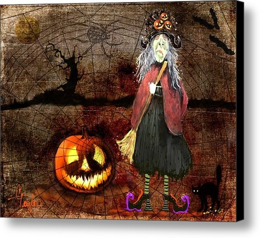 Colleen Taylor - Pumpkinella The Magical G... Print