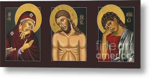 William Hart McNichols - Passion Triptych Print