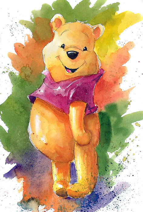 Andrew Fling - Winnie the Pooh Print