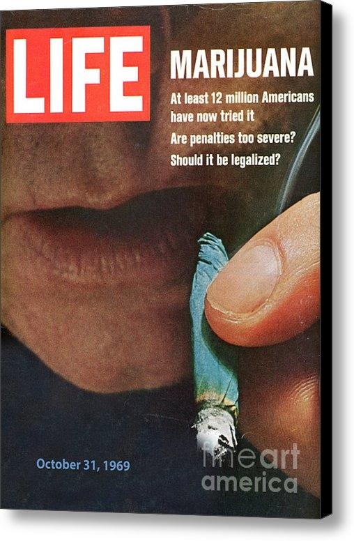 Douglas Settle - Marijuana 1969 Print
